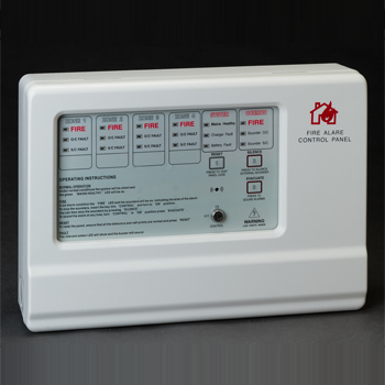 Fire Alarm Control Panel 4 ZONE, 8 ZONE
